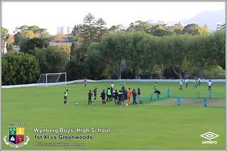 WBHS Soccer: 1st XI vs Greenwoods