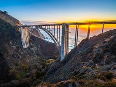 Bixby Bridge Big Sur Sunset Landscape Seascape Ocean Art! 45EPIC Elliot McGucken Fuji GFX100 Fine Art Landscape Nature Photography! Master Medium Format Fine Art Photographer! Fujifilm GFX 100 & Fujifilm FUJINON Lens!