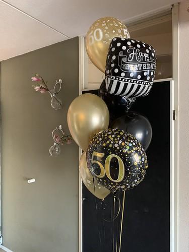Ballonboeket Verjaardag 50 Jaar Verjaardag Abraham Sarah