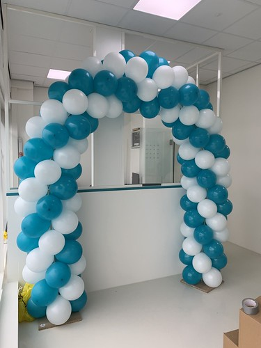 Ballonboog 5m Tandartspraktijk PR Dental Rotterdam