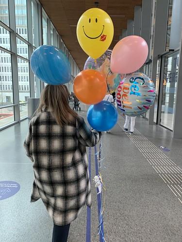 Ballonboeket Beterschap Erasmus MC Rotterdam