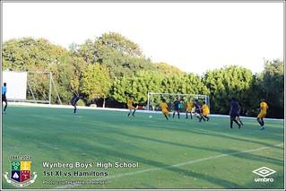 WBHS Soccer: 1st XI vs Hamiltons