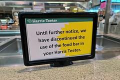 Food bar discontinued at Harris Teeter
