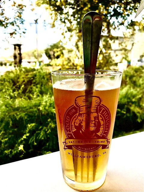 Photo:There's A Fork in My Peach Tea Blonde Ale By byzantiumbooks