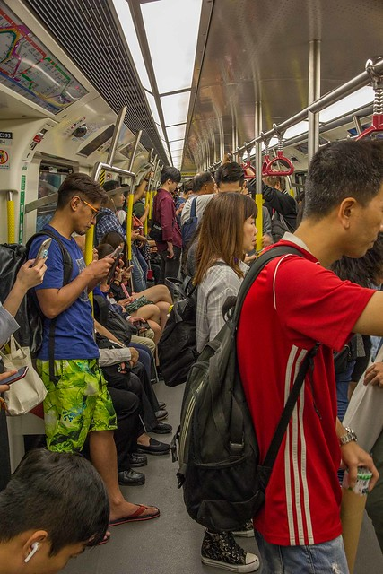 Metro (MTR) in Hongkong