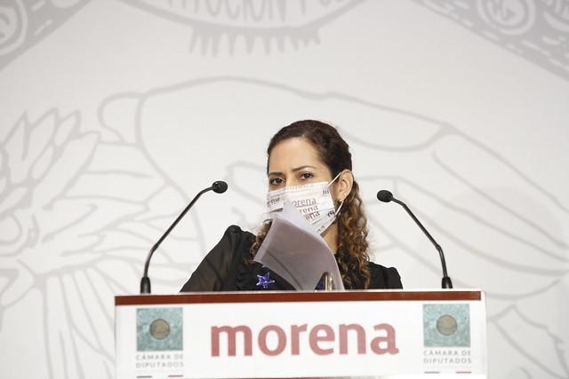 08/04/2021 Conferencia Diputada Flora Tania Cruz Santos