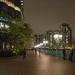 Nightlights at the waterfront in HK