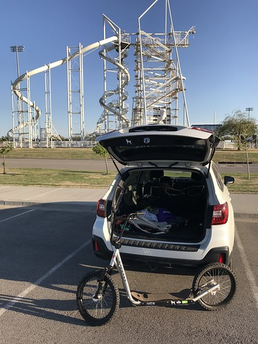 End of the ride