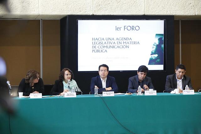 2018/04/24 Foro Hacia una Agenda Legislativa en Materia de Comunicación Dip. Mario Delgado Carrillo