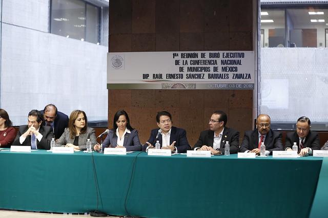 03/10/2018 Conferencia Nacional de Municipios de México Dip. Mario Delgado Carrillo
