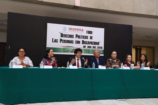 03/10/2018 Derechos Políticos de las Personas con Discapacidad