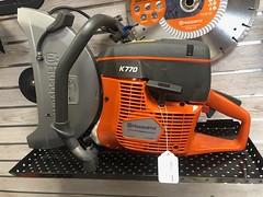 Husqvarna K770 Vac cut off saw