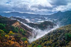 Malibu Canyons Misty Morning Fine Art Landscape Nature Photography Los Angeles Elliot McGucken Master Fine Art Luxury Photography Southern California Art!