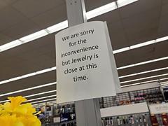 Walmart jewelry department closed [02]