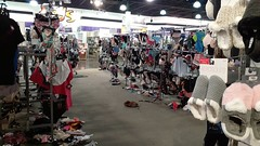 The intimates department vomited all over the floor :P