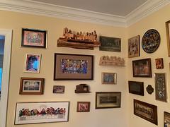 Last Supper Shelf installed