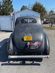 1939 Ford Deluxe Coupe Hot Rod - Rear A/GAS