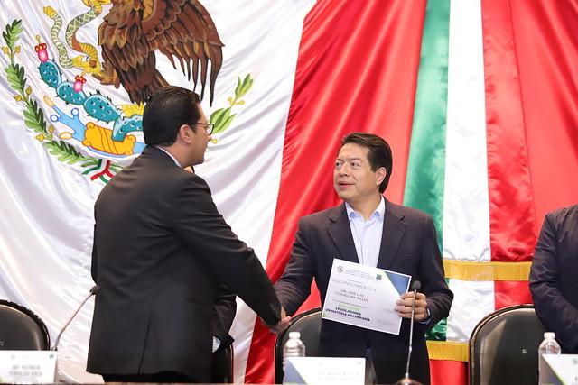 24/11/2018 Foro Entre Legisladores en Materia Hacendaria Dip. Mario Delgado Carrillo