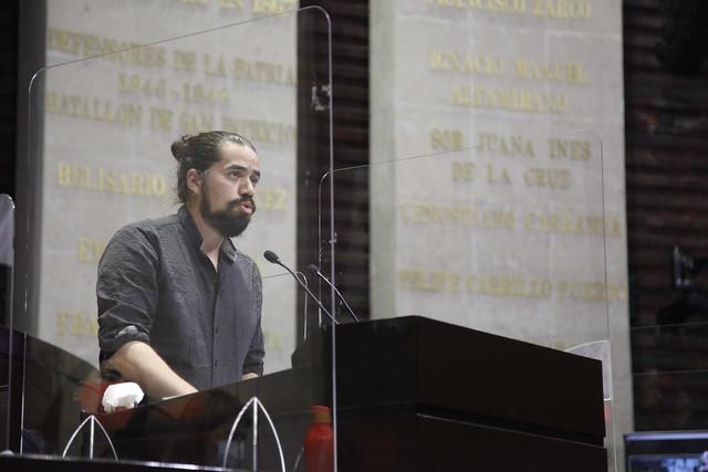 13/04/2021 Tribuna Diputado Diego Eduardo Del Bosque Villarreal