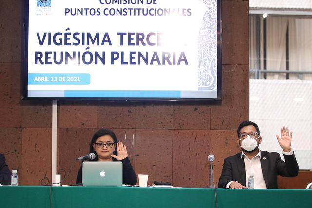 13/04/2021 Comisión De Puntos Constitucionales