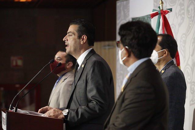 14/04/2021 Conferencia Diputado Alfredo Rivas