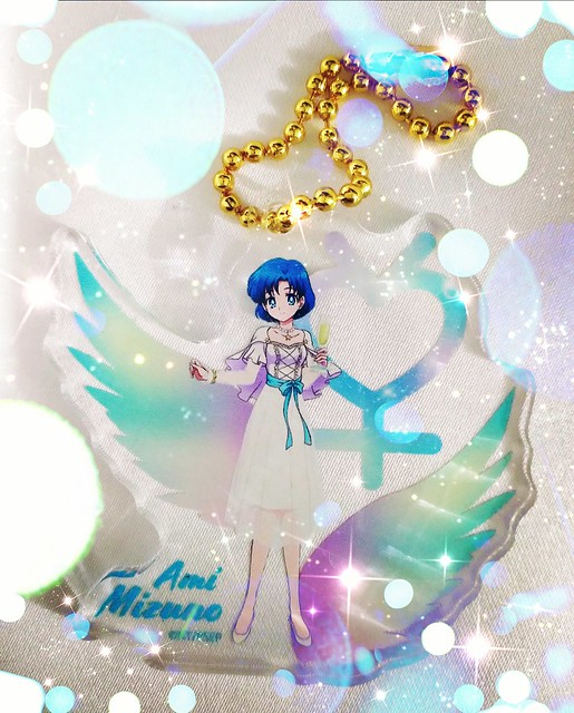Photo:Ami Mizuno Sailor Moon Eternal Acrylic Keychain Café 2020 By My Fantasy7