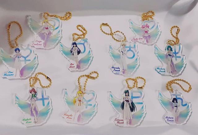 Photo:Sailor Moon Eternal Acrylics Keychain Set Café 2020 By My Fantasy7