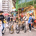 The street of Sham Shui Po, Hong Kong
