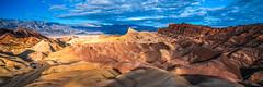 Death Valley National Park Zabriskie Point Pretty Red Orange Green Turquoise Blue Rocks California Fine Art Landscape Nature Photography! 45EPIC Dr. Elliot McGucken Master Fine Art Photographer!