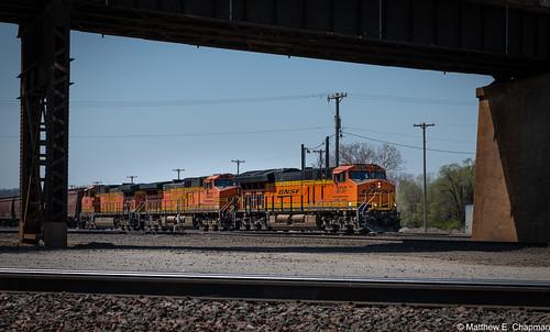 BNSF 3737, BNSF 5222, BNSF 5068