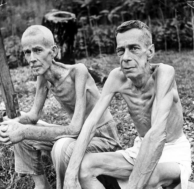 Photo:Manila, Luzon, Philippines 1945 - San Thomas Prison Liberation - By manhhai