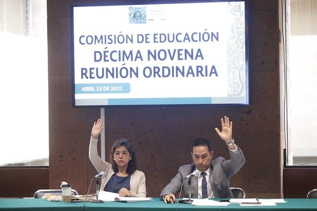 15/04/2021 Comisión De Educación