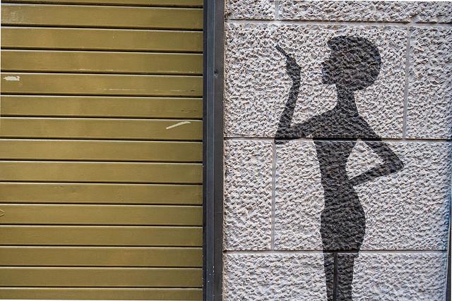 Photo:Signora è chiuso, siamo in lockdown By tullio dainese