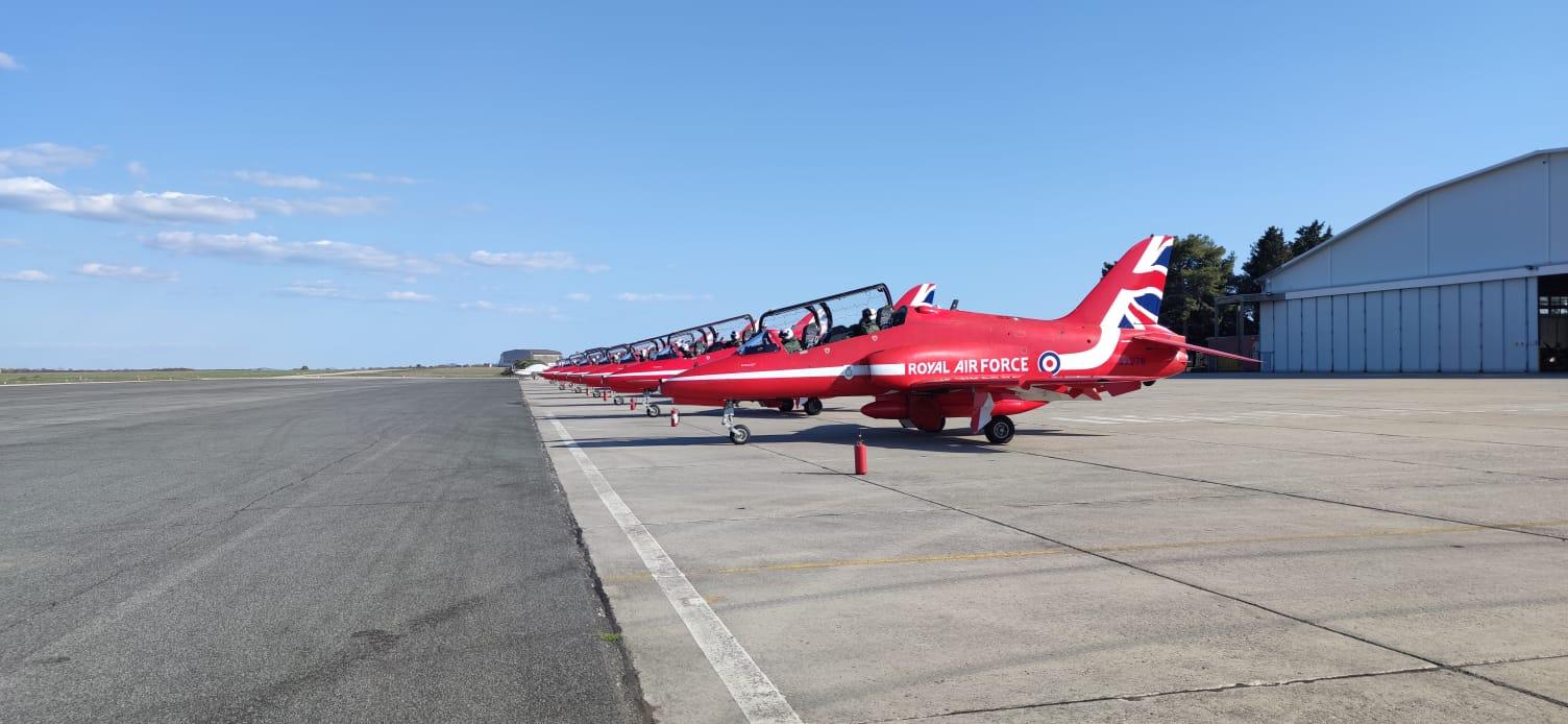 "Akro grupa ""Red Arrows"" posjetila pilote ""Krila Oluje"""