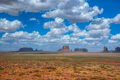 Monument Valley Fine Art Landscape Nature Photography Utah Cowboy Western Landscapes! 45EPIC Dr. Elliot McGucken Master Fine Art Photographer! West Mittens Butte East Mittens Butte & Merrick Butte!