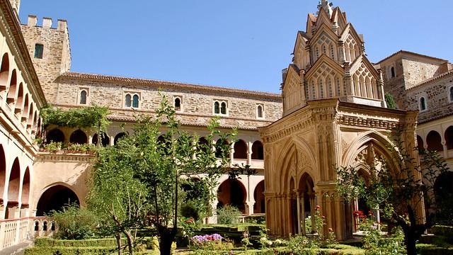 Kloster in Guadalupe, ein kulturelles Kleinod in der Extremadura.
