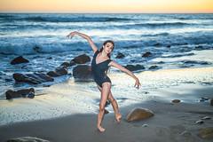 Ballet on the Beach 45SURF Fine Art Dance Portrait Photography! Pretty Leotard Model Ballet Dancer Dancing Classical Ballet Malibu Beach Sunset El Matador State Beach Dr. Elliot McGucken 45EPIC Master Ballet Photographer Luxury Fine Art Photography!