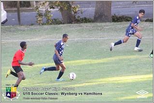 WBHS Soccer Classic: U15 Wynberg vs Hamiltons