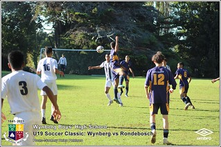 WBHS Soccer Classic: U19 Wynberg vs Rondebosch