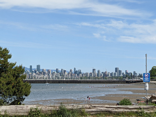 Vancouver from Jericho Beach