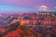 Grand Canyon National Park Point Imperial Summer Sunset Dusk Monsoon Season Fine Art Landscape Nature Photography Arizona! 45EPIC Dr. Elliot McGucken Master Fine Art Photographer Luxury Art!
