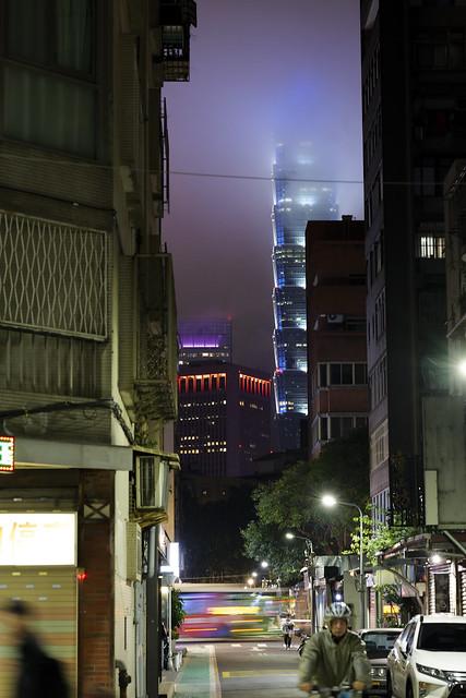 台北巷子一隅