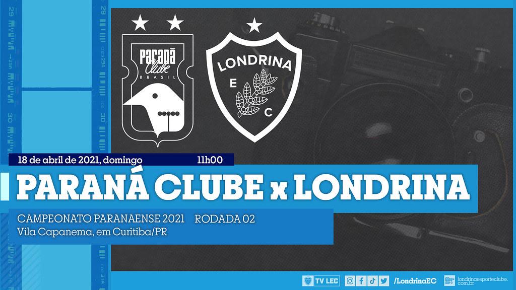 18-04-2021 PRO ParanaClube x Londrina