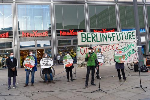 Jens-Martin Rode vom Energietisch Berlin beim Klimamontag
