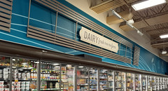 The Olive Branch Kroger dramatic dairy sign