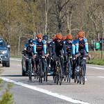 Ploegtraining Nieuwelingen Van Mossel Cycling Team 17-04-2021