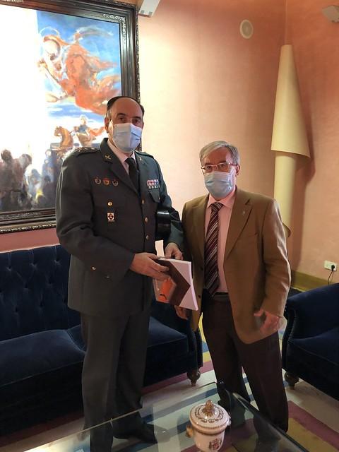 Visita General Guardia Civil en Aragón