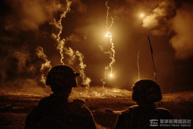 三軍聯合作戰訓練第110-1、2號