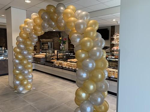 Ballonboog 6m Banketbakkerij van Beek & Specker Slinge Rotterdam