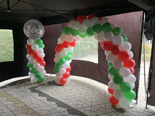 Ballonboog 6m Italiaanse Vlag Italie